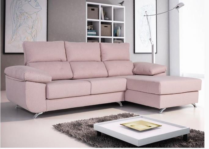 Sofá chaiselongue Modelo Florencia